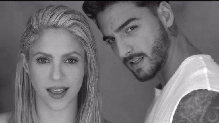 La colombiana estrenó el clip de Trap
