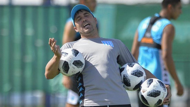 El Chacho Coudet confía en el ex jugador de Boca.