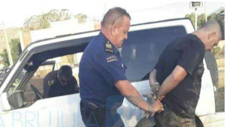 El creador de Almafuerte fue arrestado en la localidad bonaerense de Sierra de la Ventana