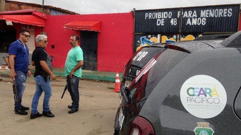 El hecho ocurrió en Fortaleza