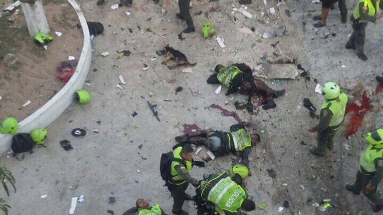 El ataque fue en una comisaría. Hay 41 heridos