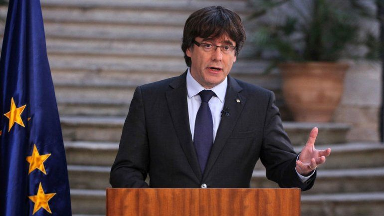 Carles Puigdemont es candidato a presidente autonómico.