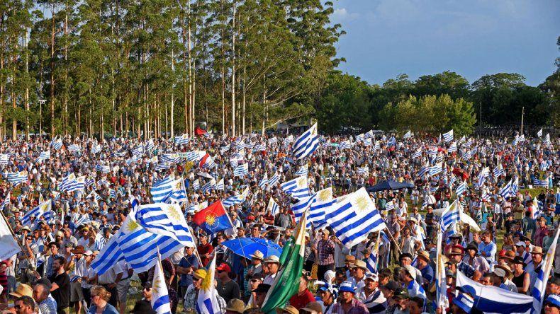 Fue la primera manifestación masiva en los últimos 13 años.