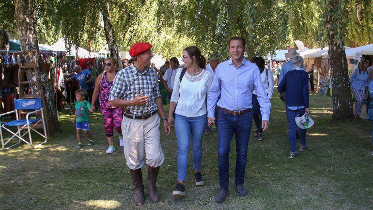 Gutiérrez visitó la Rural y mañana participará del acto inaugural