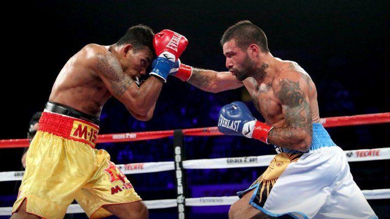 Contundente: Lucas Matthysse consiguió un nuevo título tras vencer por knock out al tailandés Kiram