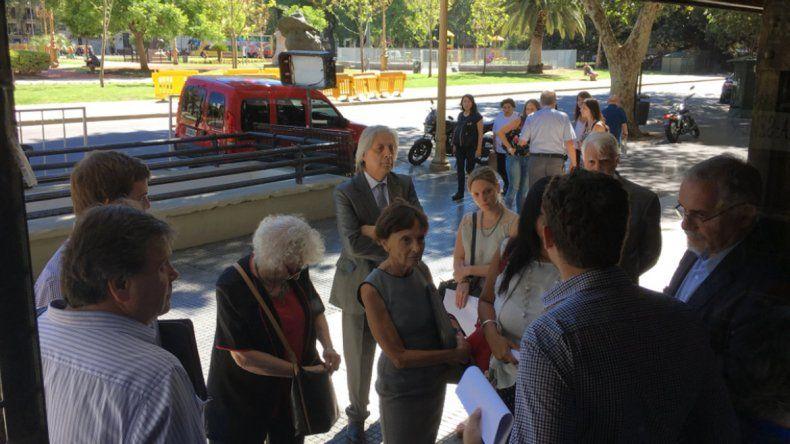 Impidieron el allanamiento en la sede de Madres de Plaza de Mayo