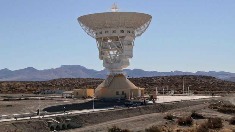La estación espacial se encuentra en el centro de la provincia.