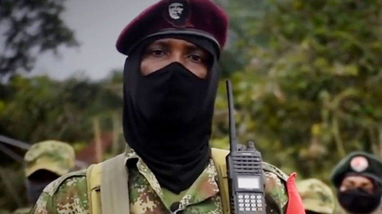 El ELN se atribuyó los atentados en las comisarías de Colombia.