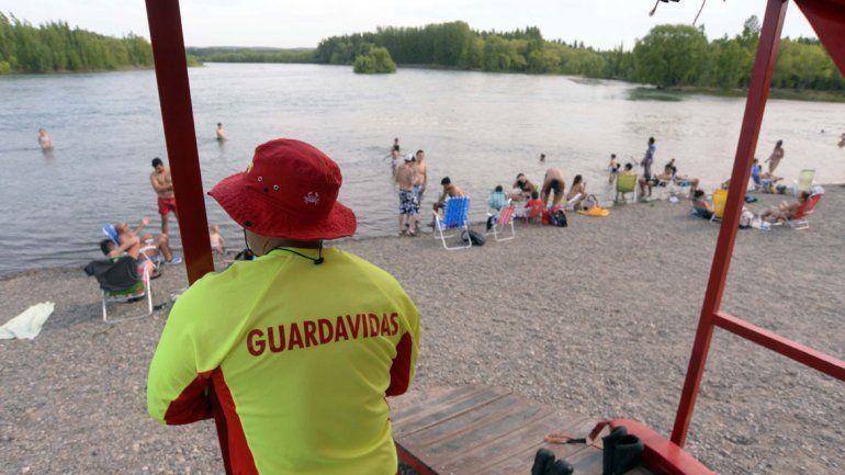 El 85% de los rescates en el verano fueron en el balneario Río Grande.