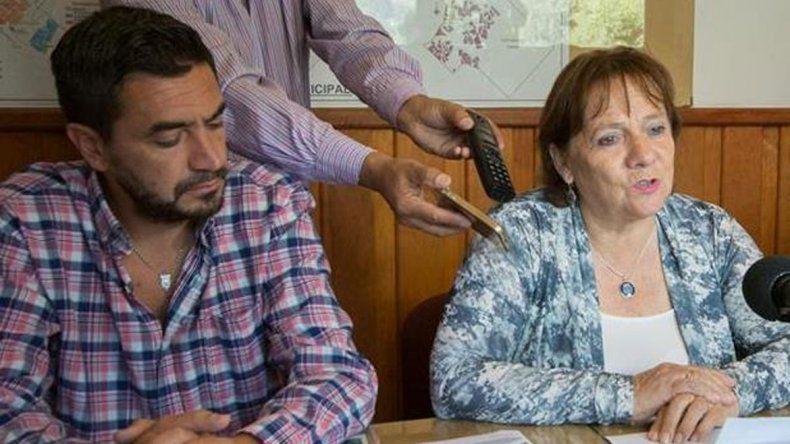 Rebolledo anunció el congelamiento de sueldos de la planta política