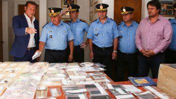 Gutiérrez destacó el golpe a la banda narco del Alto Valle