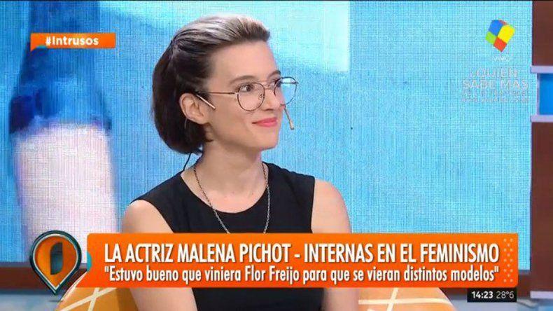 Pichot habló sobre feminismo y reconoció que le tiene miedo a Moria.