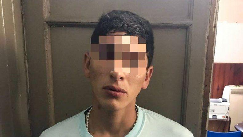 Roberto Barraza tiene 21 años y había salido de la cárcel el 7 de enero