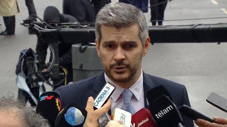 El jefe de Gabinete usó el mismo estilo de discurso que Macri.