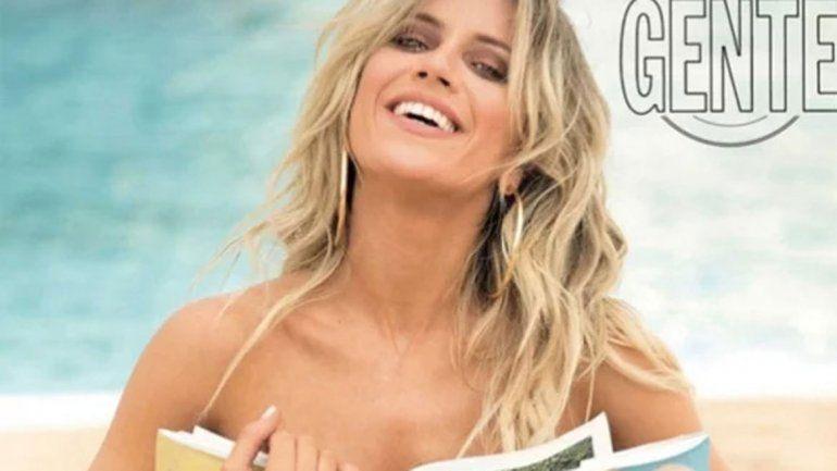 """Laurita posó sexy para Gente y aseguró que Fede es sensible, culto y salvaje. """"Yo le digo"""