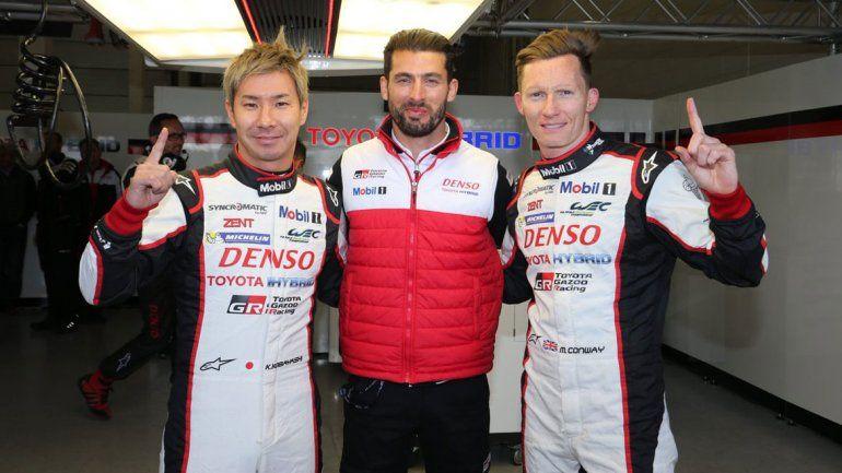 Pechito López compartirá equipo con un bicampeón de la F1.