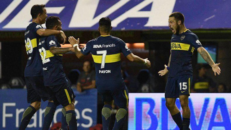 A Boca no lo baja nadie de lo más alto del torneo. Con un andar firme y casi sin dubitaciones
