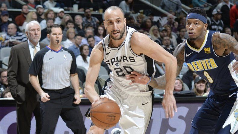 Ginóbili se lució en una nueva victoria de los Spurs
