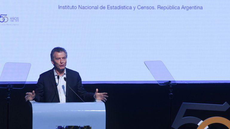 Para Macri el Indec pasó de la oscuridad a la transparencia