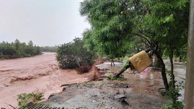 El norte de Salta es afectado por un intenso temporal.