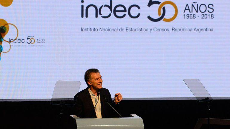 Macri celebró los 50 años del Indec y su transformación