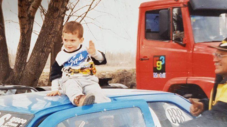 Hincha de Ford desde niño