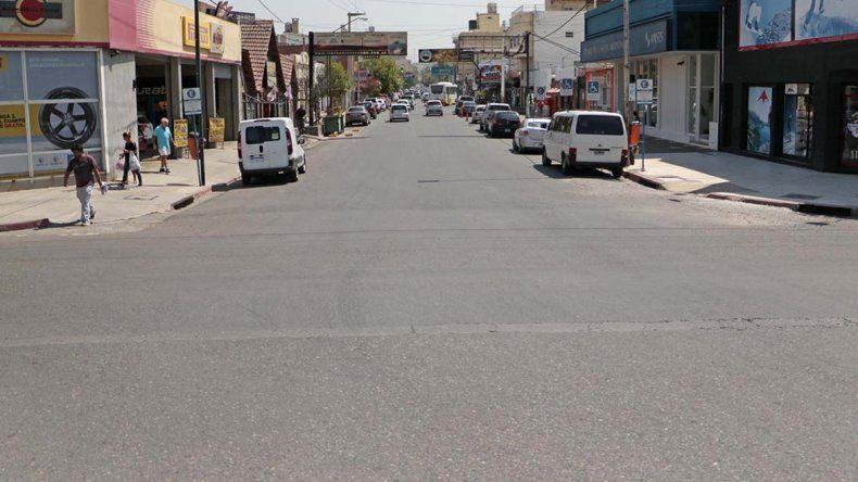 Se suspendieron las obras en calle Láinez hasta mañana