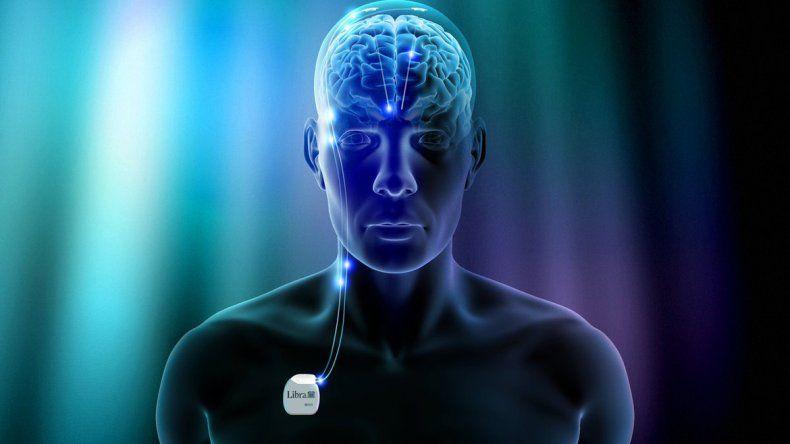 Cables finos fueron activados en los lóbulos frontales de los pacientes.
