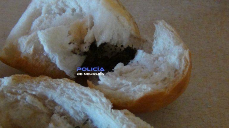 Lo atraparon cuando intentó pasarle droga dentro de un pedazo de pan a un preso de la U22