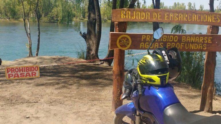 Un cipoleño murió ahogado en un sector del río donde estaba prohibido bañarse