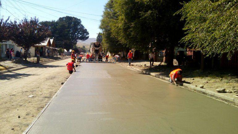 Comenzó la obra de pavimentación en Junín de los Andes