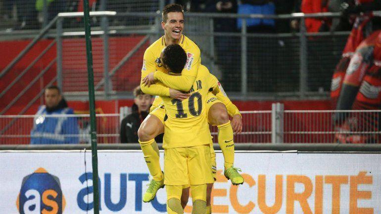 El PSG goleó a Lille con sello argentino