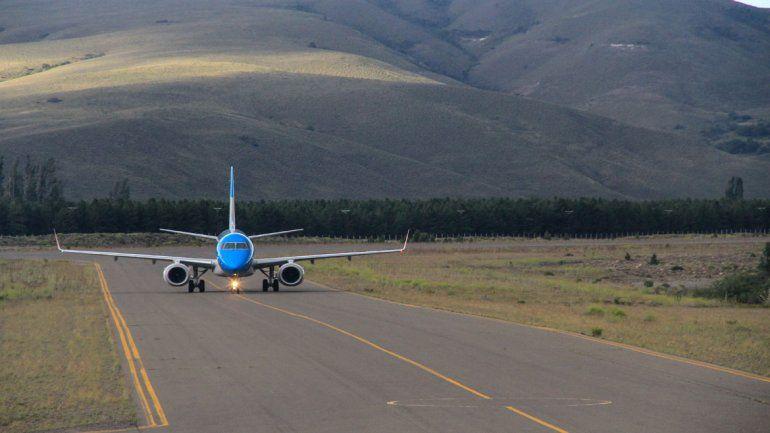 Las obras en el aeropuerto de Chapelco permitieron a San Martín ser una opción directa del turismo internacional.