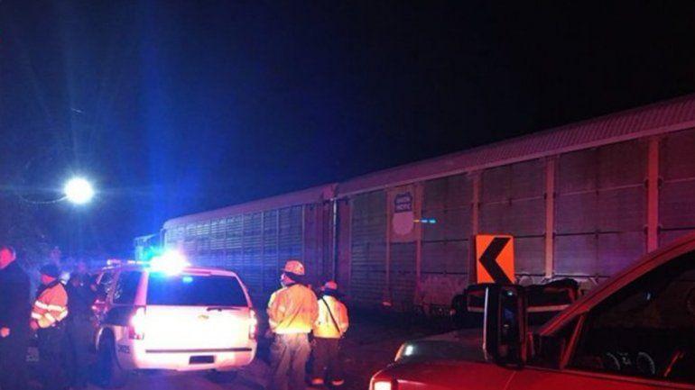 Al menos dos muertos en un choque de trenes en Carolina del Sur