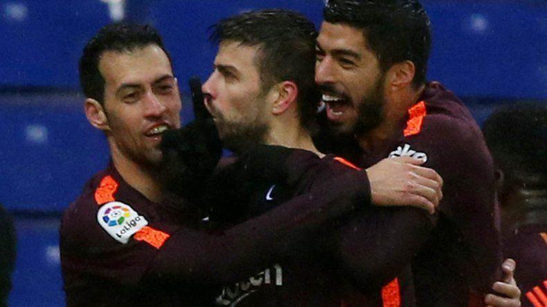 Barcelona empató con Espanyol y se cortó la racha de los triunfos