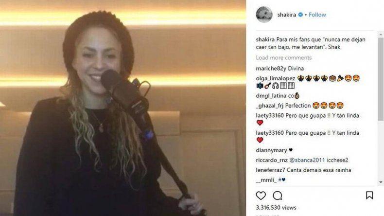 La cantante colombiana ya está recuperada de su operación.