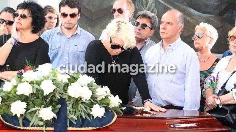 El profundo dolor de Carmen por la muerte de su madre.