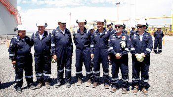 El ministro de Energía nacional, Juan José Aranguren, visitó por primera vez Vaca Muerta.