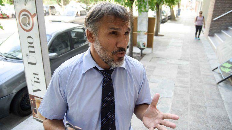Virgilio Sánchez, abogado de la familia de Sergio Ávalos, tras haberse levantado el lunes el secreto de sumario.