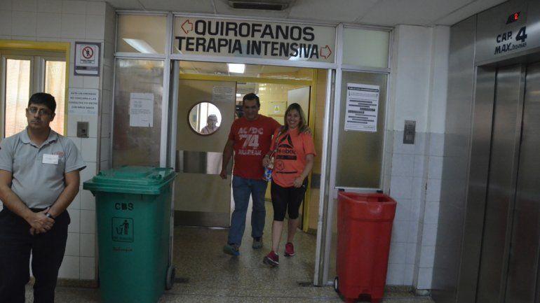Lautaro fue dado de alta luego de estar un mes y medio internado por la agresión