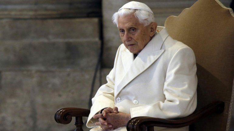 Benedicto XVI escribió: Voy en peregrinación hacia Casa.