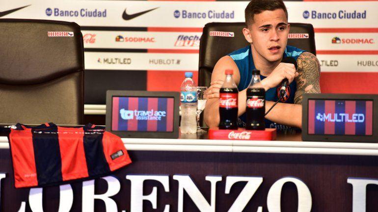 El mediocampista paraguayo habló ayer en conferencia de prensa.