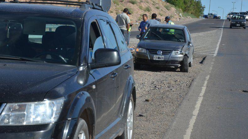 Dos choques en cadena sobre la Ruta 7: culpan a los controles
