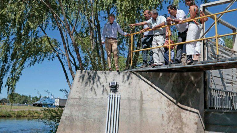 Una app permitirá saber el nivel de contaminación del Río Limay