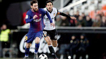 Barcelona le ganó a Valencia y definirá ante Sevilla