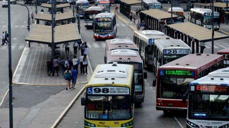Durante la marcha del 21 habrá transporte público.