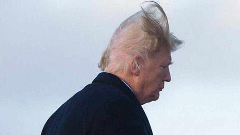Esta es la imagen que Donald Trump siempre quiso evitar.