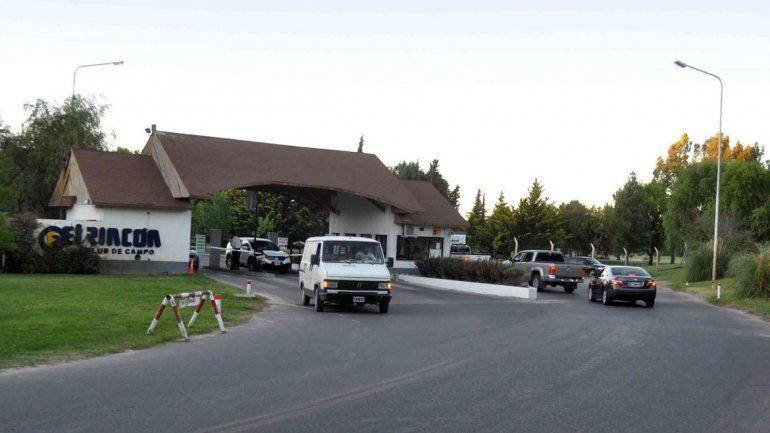 El Rincón Club de Campo en el 2009 también sufrió un robo importante.