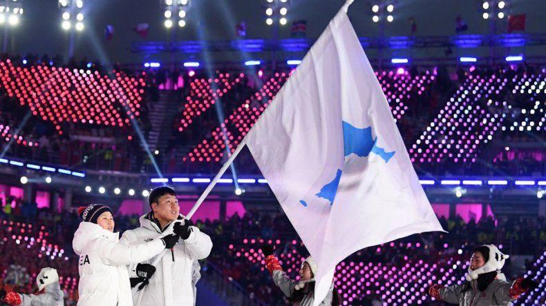 Con una Corea unificada, arrancaron los Juegos Olímpicos de Invierno