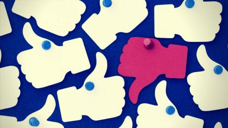 Facebook pone a pruebael voto negativo a los posteos